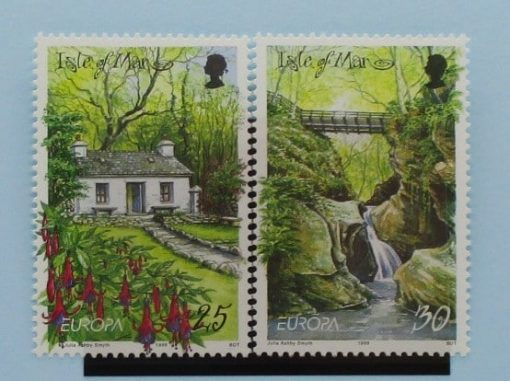 Isle of Man Stamps, 1999, SG830-831, Mint 3