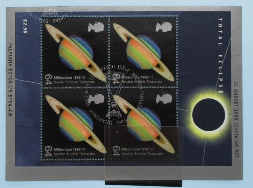 Great Britain Stamps, 1999, MS2106, Used 3