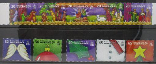 Guernsey Stamps, 2004, SG1050a, SG1055-1059, Mint 3