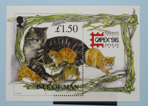 Isle of Man Stamps, 1996, MS712, Mint 3