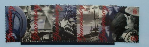 Guernsey Stamps, 1995, SG672-676, Used 3