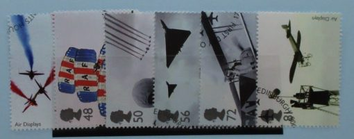 Great Britain Stamps, 2008, SG2855-2860, Used 3