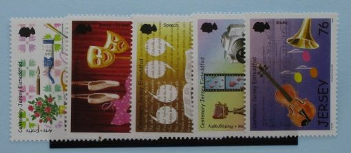 Jersey Stamps, 2008, SG1359-1363, Mint 3