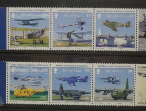 Isle of Man Stamps, 2008, SG1406a, SG1408a, Mint 3