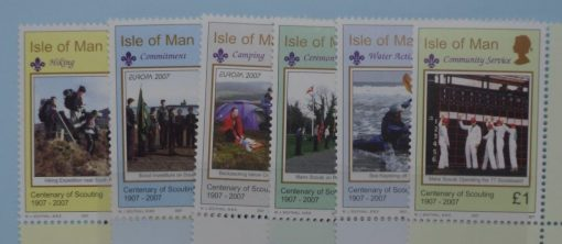 Isle of Man Stamps, 2007, SG1342-1347, Mint 3