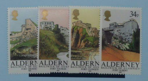 Alderney Stamps, 1986, SGA28-31, Mint 2
