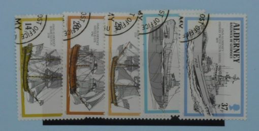 Alderney Stamps, 1990, SG A42-A46, Used 3