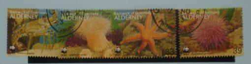 Alderney Stamps, 1993, SGA56-A59, Used 2