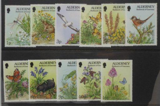 Alderney Stamps, 1994-98, SGA60-A70, Mint 3