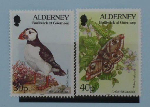 Alderney Stamps, 1994-98, SGA73-A74, Mint 3