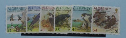 Alderney Stamps, 2000, SG A140-A145, Mint 3