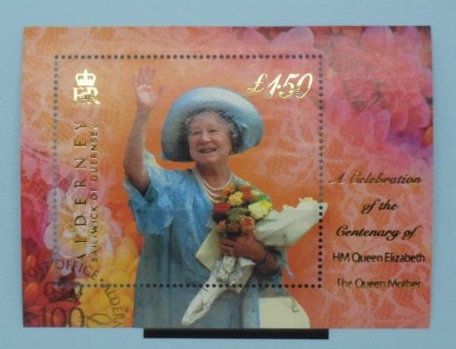 Alderney Stamps, 2000, MSA153, Used 3