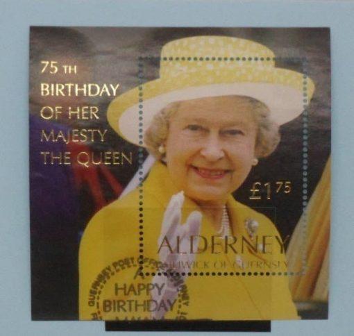 Alderney Stamps, 2001, MSA162, Used. 3