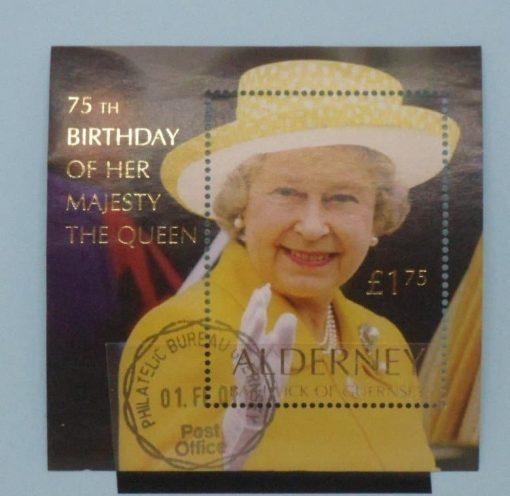 Alderney Stamps, 2001, MS A162, Used, 3