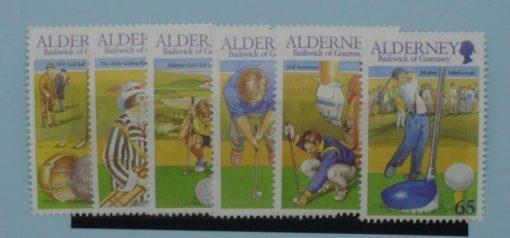 Alderney Stamps, 2001, SGA169-A174, Mint 3