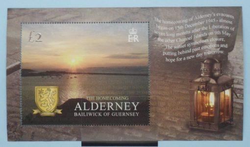 Alderney Stamps, 2005, MSA266, Used 3