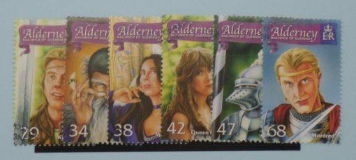 Alderney Stamps, 2006, SGA267-A272, Used 3