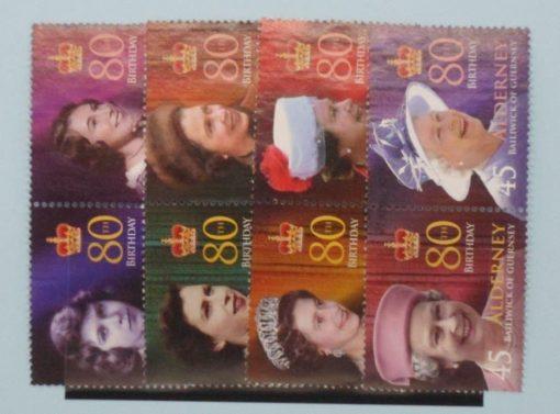 Alderney Stamps, 2006, SGA274-A280, Used 3