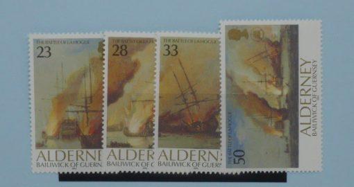 Alderney Stamps, 1992, SGA52-55, Mint 3