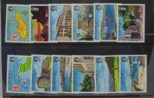 Alderney Stamps, 1983, SGA1-A12, Mint 2