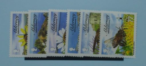 Alderney Stamps, 2009, SGA356-A361, Mint 3