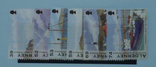 Alderney Stamps, 2012, SGA467-A472, Mint 3