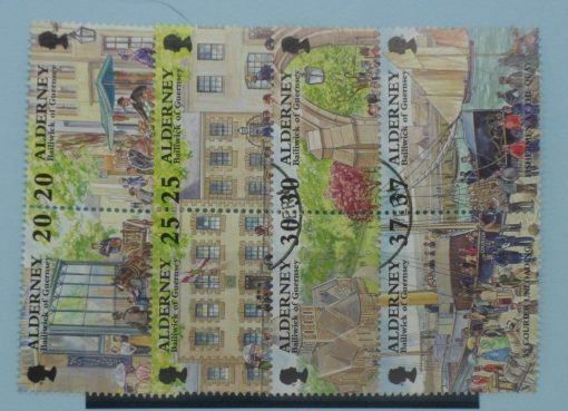 Alderney Stamps, 1998, SGA116a, A118a, A120a, A122a, Used 3