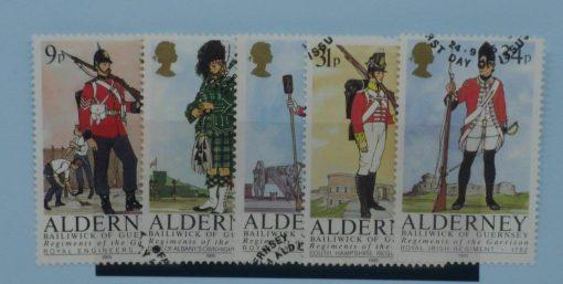 Alderney Stamps, 1985, SGA23-A27, Used 3