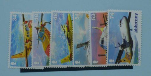 Alderney Stamps, 2008, SGA349-A354, Mint 3
