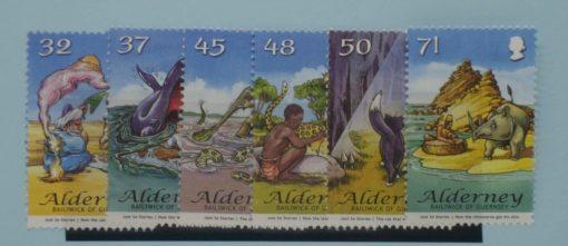 Alderney Stamps, 2007, SGA322-A327, Mint 3
