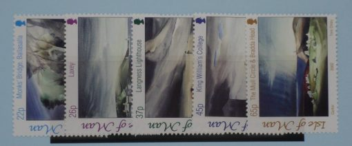 Isle of Man Stamps, 2002, SG989-993, Mint 3