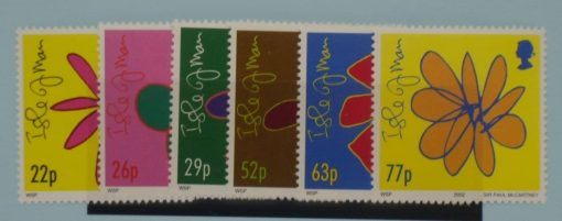 Isle of Man Stamps, 2002, SG995-1000, Mint 3