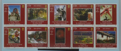 Isle of Man Stamps, 2002, SG1011a, Mint 3