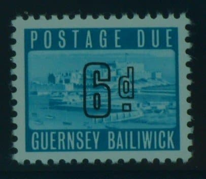 Guernsey Stamps, 1969, SG D6, Mint 3