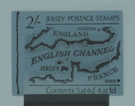 Jersey Stamps, 1969-70, SB1, Mint 3