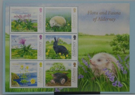 Alderney Stamps, 2015, MS551, Mint 3