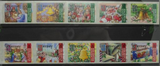 Jersey Stamps, 2001, SG1014-1023, Used 3