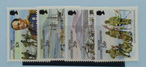 British Antarctic Territory Stamps, 1987, SG155-158, Mint 3