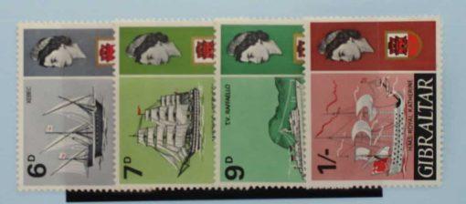 Gibraltar Stamps, 1967-69, SG206-209, Mint 3