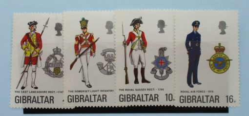 Gibraltar Stamps, 1974, SG331-334, Mint 3