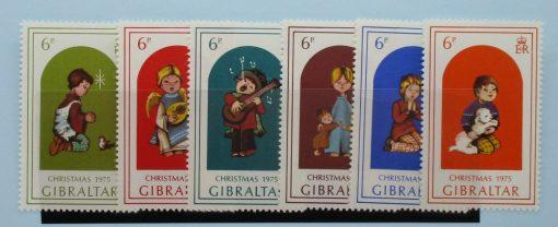 Gibraltar Stamps, 1975, SG349-354, Mint 3