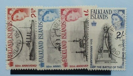 Falkland Islands Stamps, 1964, SG215-218, Used 3