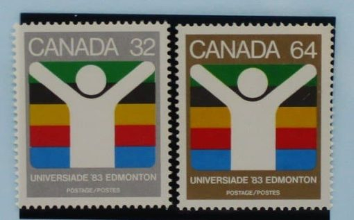 Canada Stamps, 1983, SG1088-1089, Mint 3