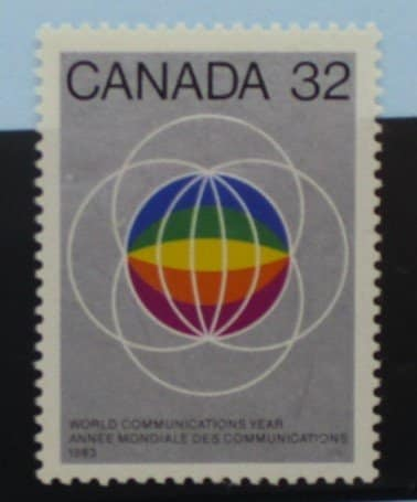 Canada Stamps, 1983, SG1083, Mint 3