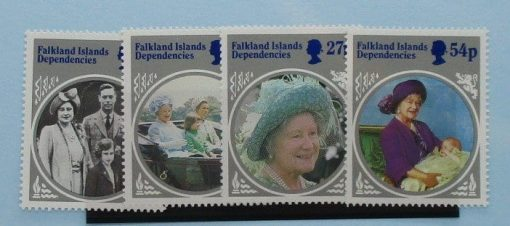 Falkland Island Dependencies Stamps, 1985, SG129-132, Mint 3