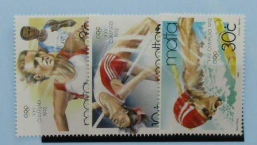 Malta Stamps, 1992, SG924-926, Mint 3