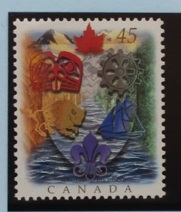 Canada Stamps, 1996, SG1697, Mint 3