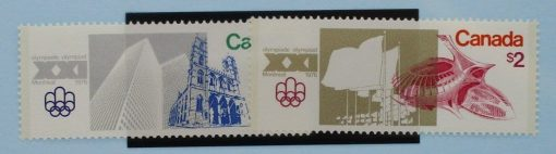 Canada Stamps, 1976, SG836-837, Mint 3