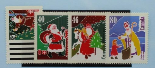 Canada Stamps, 1991, SG1450-1453, Mint 3