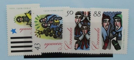 Canada Stamps, 1994, SG1617-1620, Mint 3